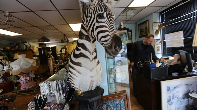 Antique Raiders and Traders at 93 Main street In Tottenville, Staten Island, Wednesday, Oct. 15, 2014.