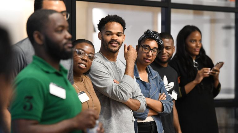 One of the buses in the StartupBus competition this year was exclusively for black entrepreneurs.