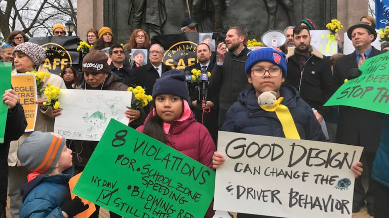 Park Slope march, rally demands safer streets in wake of deadly crash