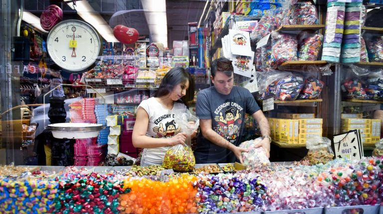Economy Candy offers three generations of proof that sweets and love go together