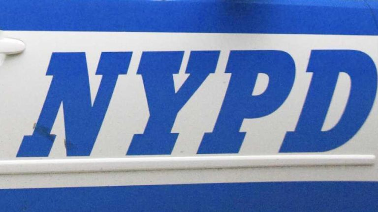 This is a file photo of an NYPD squad car.
