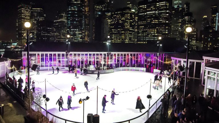 Ice skate on a heart-shaped rink, catch a romantic movie or start the day with a morning party this Valentine's Day.