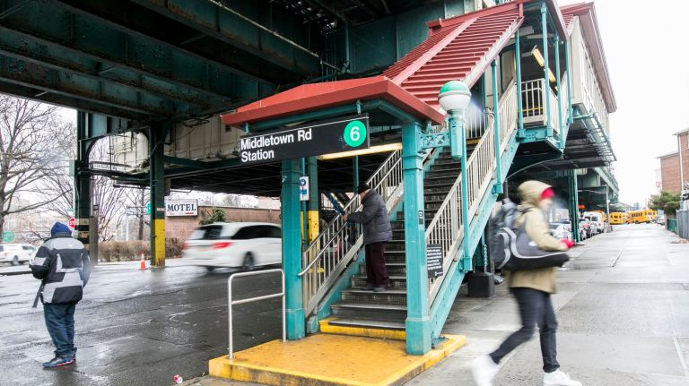 A renovation of the Middletown Road subway station in the Bronx failed to meet mandated ADA standards, according to a lawsuit.