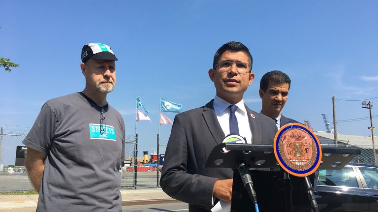 NYC Ferry improvements, other transportation ideas floated by Menchaca ahead of primary