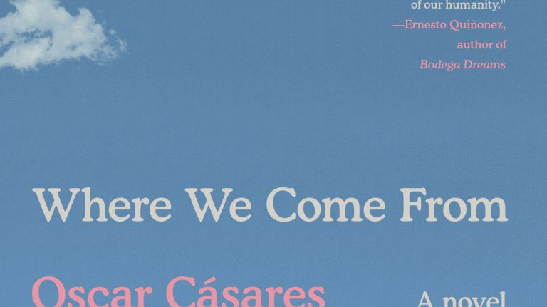 """Where We Come From"" by Oscar Cásares is out Tuesday."