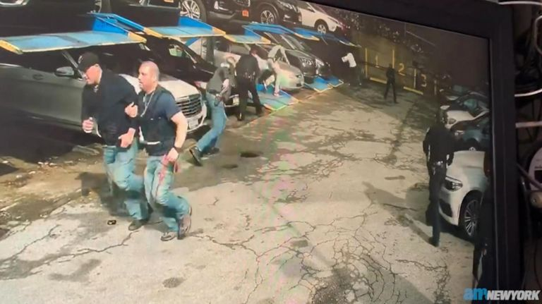 On Thursday, anNYPD officer was shot and another officer narrowly missed being hitina confrontation that left thesuspect deadin Washington Heights, authorities said.