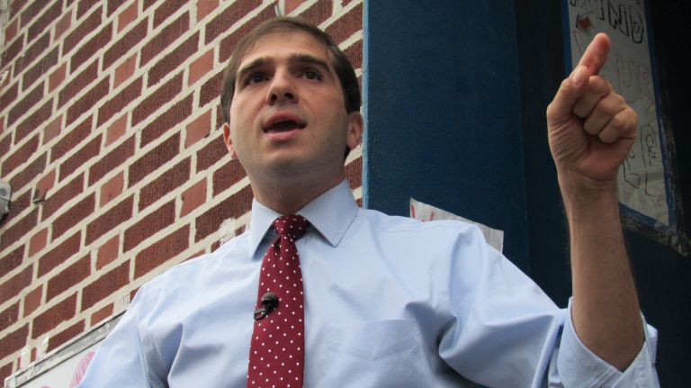 Andrew Gounardes declares victory in tight Senate race against Marty Golden