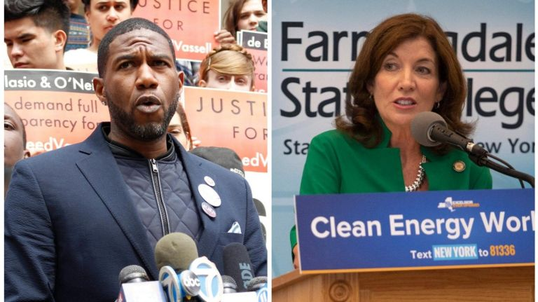 Jumaane Williams lost to incumbent Lt. Gov. Kathy Hochul in Thursday's Democratic primary.