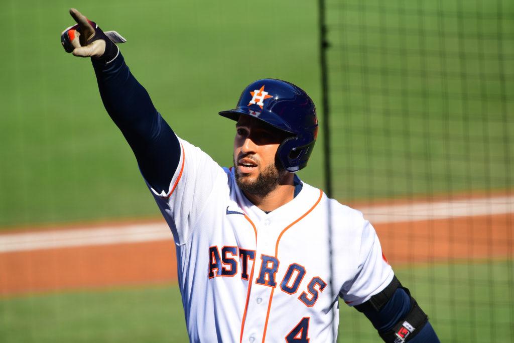 George Springer Mets
