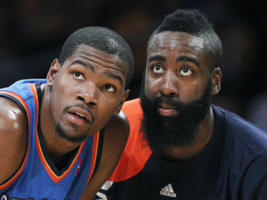 Kevin Durant James Harden Nets
