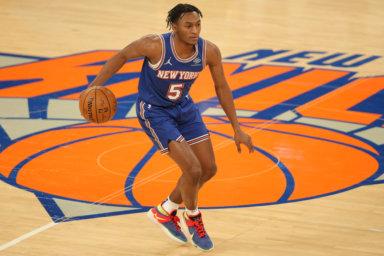 Immanuel Quickley Knicks