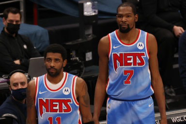 Kyrie Irving Kevin Durant Nets