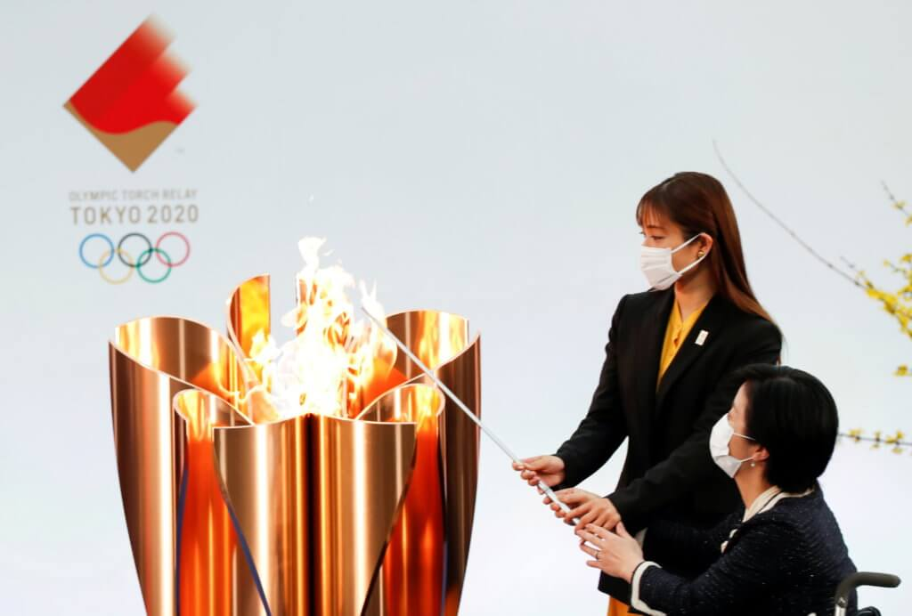 Olympics Torch Tokyo 2020