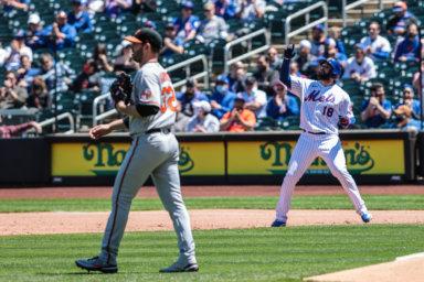 Mets Orioles Harvey Peraza