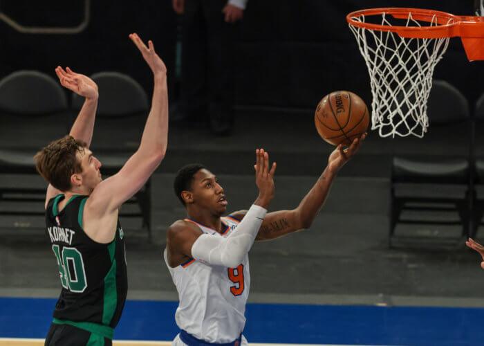Barrett Knicks Celtics
