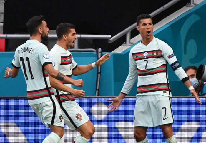 Portugal Cristiano Ronaldo Euro 2020