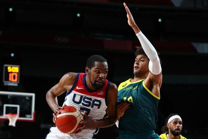 Kevin Durant Team USA basketball olympics