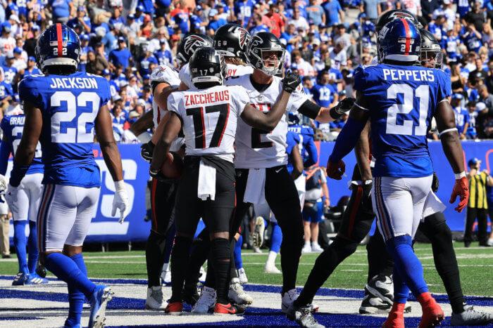 Falcons Giants Week 3