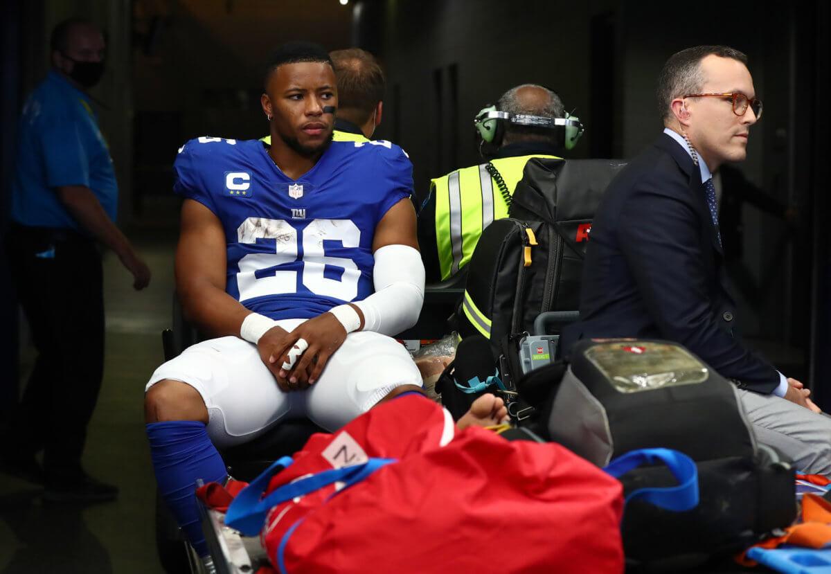 Saquon Barkley Giants Cowboys